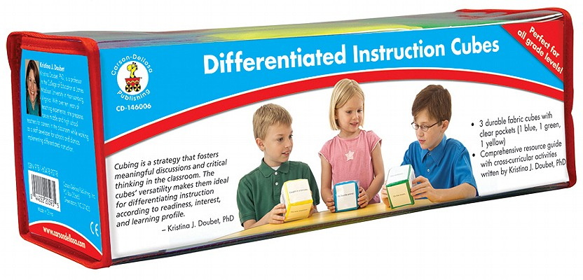 Differentiated Instruction Cubes By Carson-dellosa Publishing (COM)